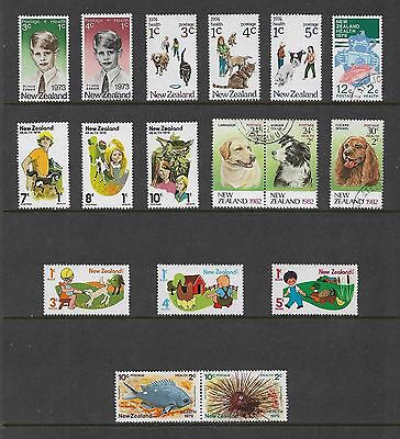 NEW ZEALAND - mixed collection, Health stamps, No.1, mint & used