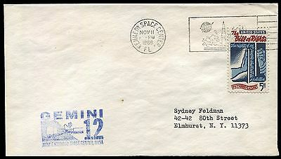 Space - Gemini 12 - launch cover with scarce blue NASA cachet