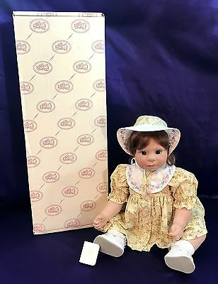 Lee Middleton Dolls Beloved Sunbeam & Flowers Model BL-SF w/Outfit, Bible & Box