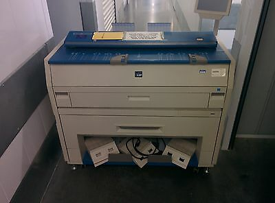 Low Usage KIP 3000 MFP Wide Format PDF Copier Plotter Printer and Scanner