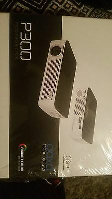 AAXA P300 Pico LED Projector  + All Accessories New In Box