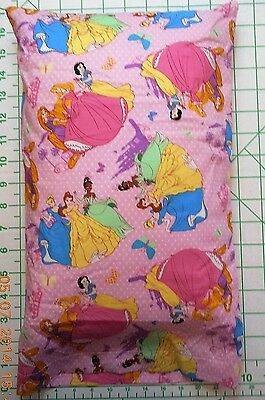 Disney PRINCESS and butterflies Small Pillow Case with Travel / Toddler Pillow