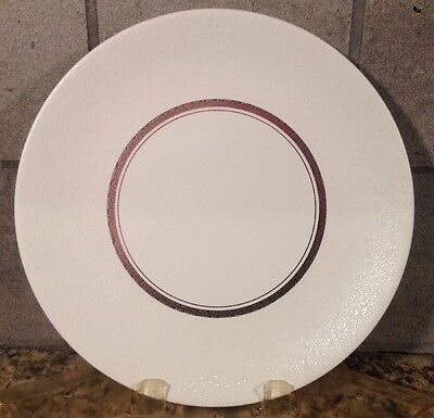 SASCHA BRASTOFF EAMES Chantilly Luncheon Plate PLATINUM WHITE MORE AVAIL
