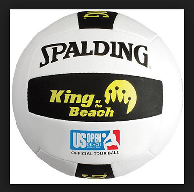 Spalding King of the Beach US Open REPLICA Tour Ball Official Size and Weight