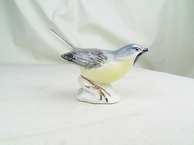 Vintage Beswick Grey Wagtail Figurine Figure Animal Ornament