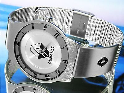 Silver Face Watch for RenauIt fuego 5 clio megane dauphine laguna caravelle