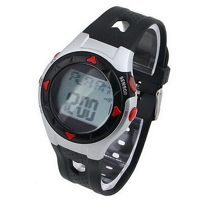 Waterproof Pulse Heart Rate Monitor Stop Watch Calories Counter Sport Fitness YK