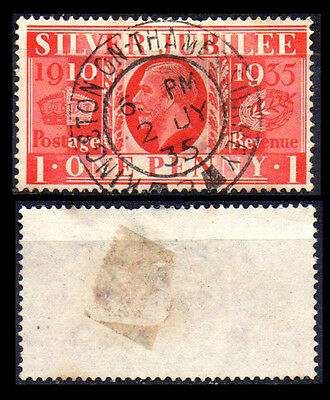 [1419] Great Britain 1934 Cancel Kingston –on- Thames Surrey.Concentric circles.