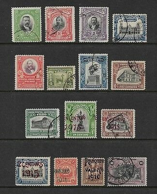 PERU - mixed collection No.5, 1900-1918, incl surch, opt, mint & used