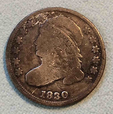 1830 Bust Dime Nice FREE SHIPPING