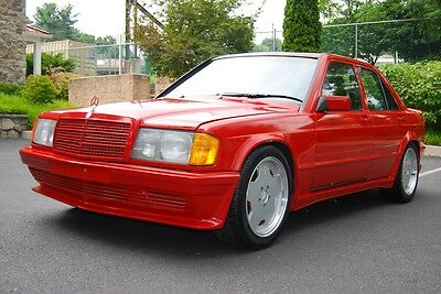 1987 Mercedes-Benz 190-Series WIDE-BODY ULRA-RARE 1987 MERCEDES W201 190E AMG WIDEBODY V8 ENGINE 28K MILES PROJECT CAR!!