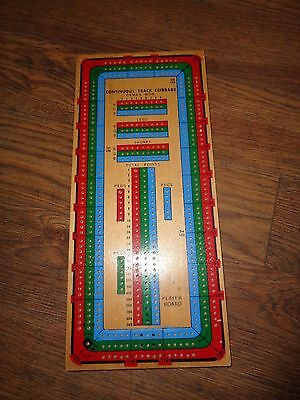 Continuous Track Cribbage Board