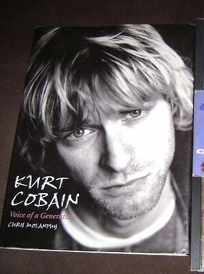 NIRVANA-KURT COBAIN-PICTURE BOOK- VOICE of A GENERATION/ HARD COVER