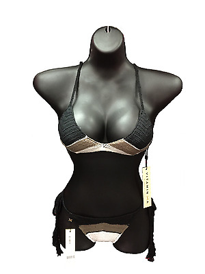LARGE BUST Breast Woman Ladies Torso Mannequin Female Hanging Body Form BLACK