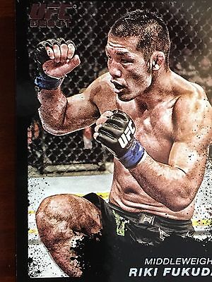 Topps Ufc 2011 Ricky Fukuda Debut Card # 41 Numbered 41/88