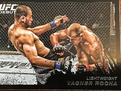 Topps Ufc 2011 Vagner Rocha Rookie Card # 185 Numbered 58/88