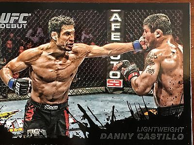 Topps Ufc 2011 Danny Castillo Rookie Card # 74 Numbered 37/88