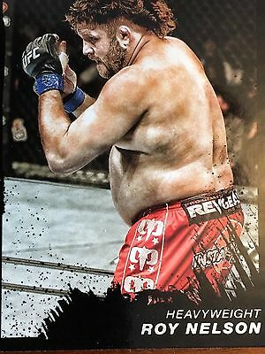 Topps Ufc 2011 Roy Nelson Card #30 Numbered 03/88