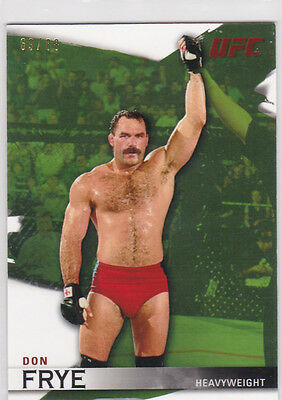 Topps Ufc 2010 Don Frye Card #10 Numbered 69/88