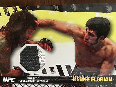 Topps Ufc 2010 Kenny Florian  Fight Mat Relic