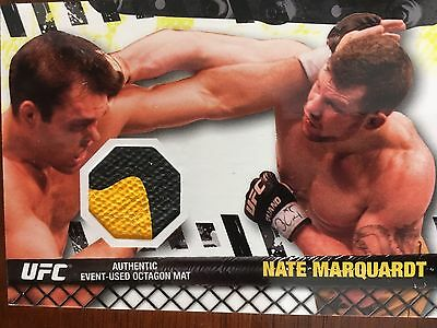 Topps Ufc 2010 Nate Marquardt Fight Mat Relic