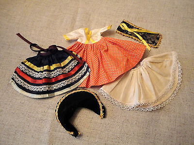 """1968-69 International Series 5 PC PERU Outfit  For 8"""" MUFFIE Doll"""