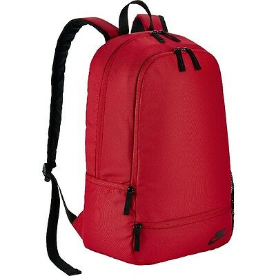 NIKE CLASSIC NORTH Solid Backpack BA5274 657 NEU cool Rot