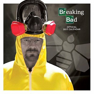 Breaking Bad - Official 2017 Calendar C15006