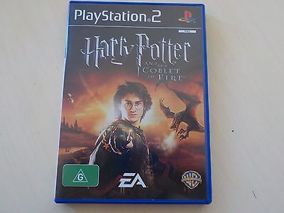 Harry Potter and the Goblet of Fire PS2 PAL Preloved *Complete*