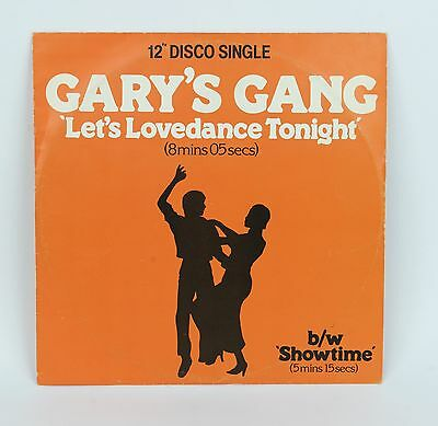 Gary's Gang  Let's Lovedance Tonight  12""