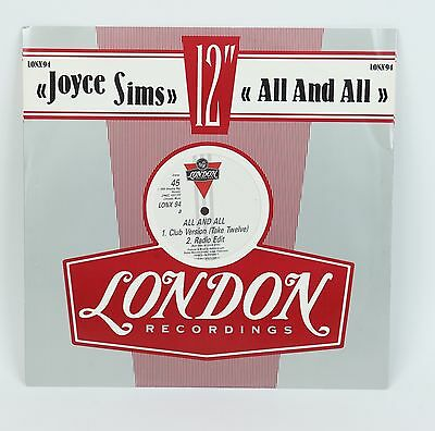 Joyce Sims  All and All  12""
