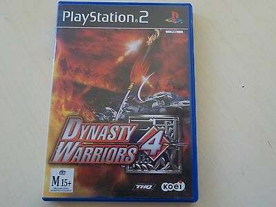 Dynasty Warriors 4 PS2 PAL Preloved *Complete*