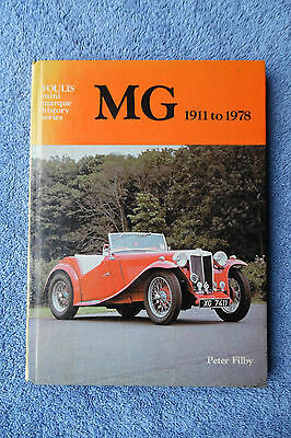 History Ofthe Mg 1911 To 1978 Free Uk Postage