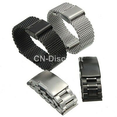 20mm Stainless Steel Wrist Strap Band For Samsung Gear S2 Classic Smart Watch