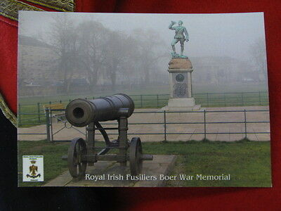 Postcard the Royal Irish Fusiliers Boer War Memorial in Armagh