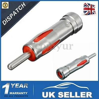 Car Stereo Radio ISO to DIN Male Aerial Antenna Adaptor Adapter Connector Plug