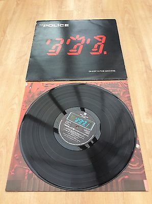 The Police - Ghost In The Machine - VG+ Condition Vinyl LP Record