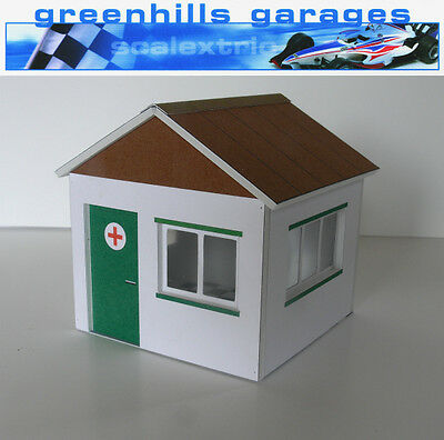 Greenhills Scalextric Slot Car Building First Aid Hut Kit 1:32 scale - Brand New