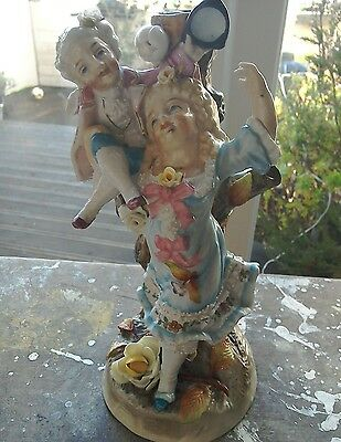 Antique Conte And Boehme Figurine