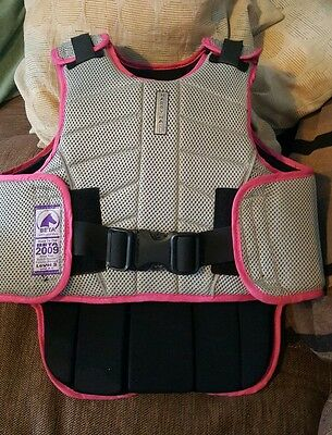 HARRY HALL ZEUS CHILD LARGE  BODY PROTECTOR LEVEL 3 C-L Equestrian Horse Riding