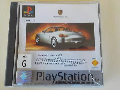 Porsche Challenge | Playstation 1 | Ps1 | Pal | Complete