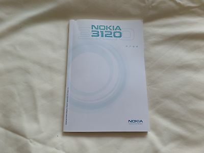 Nokia 3120 Manual And Rare Book