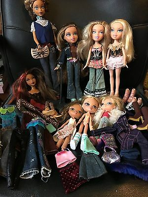Bratz bundle of dolls and accessories
