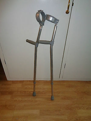 Lightweight Trulife elbow crutches