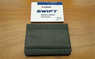 Suzuki Swift Owners Manual / Handbook + Case / Wallet - (2005 - 2008)