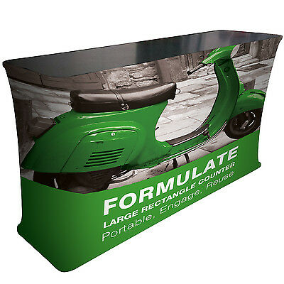 Formulate Large Rectangle Counter - Fabric Display Stands