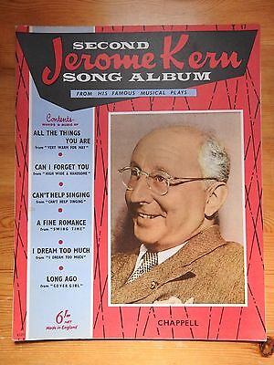 The Second Jerome Kern Song Album sheet music