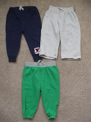 6 x Baby boy bottoms / pants / trousers 9-12 months