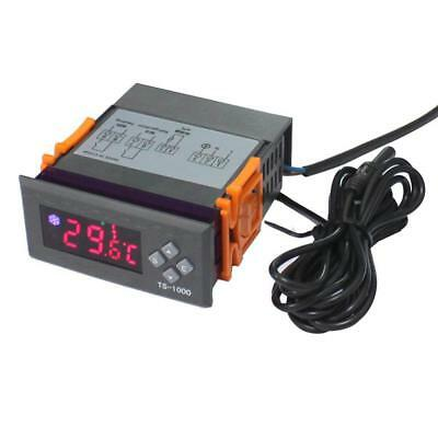 Digital Temperature Controller Thermostat Support for Fahrenheit and Celsius