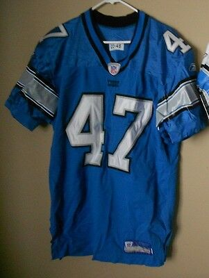 brand new bdc7b 38d40 DETROIT LIONS GAME Used Nfl Football Jersey